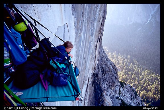 Lazy morning. El Capitan, Yosemite, California